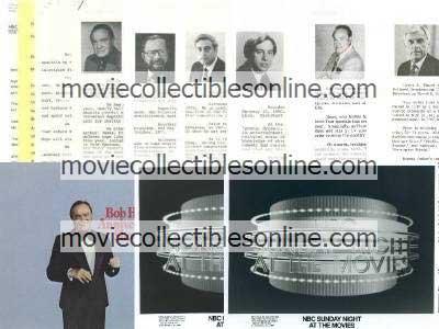 Television Specials Press Kits