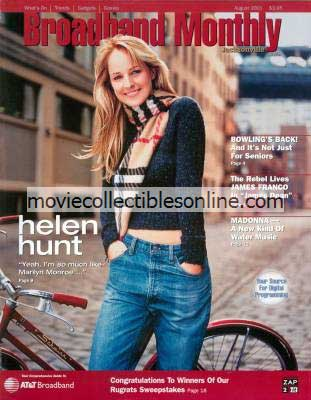 8/2001 Broadband Monthly